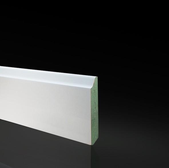 Rodapie Lacado Blanco Pp