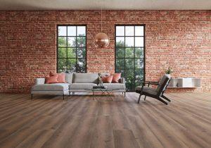 Ambiente Wineo 500 Smooth Oak Darkbrown